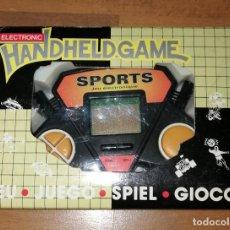 Videojuegos y Consolas: MAQUINITA, CONSOLA. ELECTRONIC HANDHELD GAME. UP5100 SPORT GAME. - AÑOS 80. - FUNCIONA, PROBADO. Lote 278972098