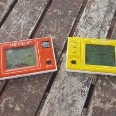 Videojogos e Consolas: MINI ARCADE LCD GAME/PROTECTION Y SEA RANGERS. Lote 279371453