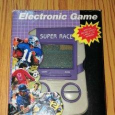 Videojuegos y Consolas: MAQUINITA, CONSOLA. ELECTRONIC GAME WG-56 : SUPER RACE. - AÑOS 80. - NO FUNCIONA. Lote 279512258