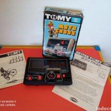 Videogiochi e Consoli: JUEGO ELECTRÓNICO 1ª GENERACIÓN MOTO CROSS.TOMY 70S GEYPER.SIN USO,EN CAJA.VER DESCRIPCIÓN.. Lote 280847538