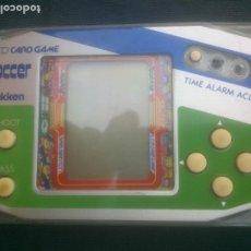 Videojuegos y Consolas: MAQUINITA LCD CARD GAME GAKKEN SOCCER MADE IN JAPAN . GAME & WATCH. Lote 281805098