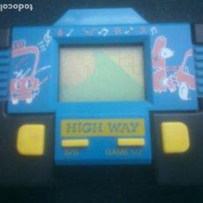 Videojuegos y Consolas: CONSOLA MAQUINITA HIGH WAY MAQUINA JUEGO. Lote 281805518
