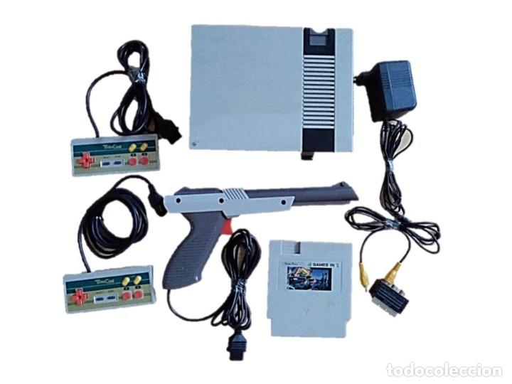 CONSOLA NASSA VINTAGE ENTERTAINMENT COMPUTER SYSTEM (Juguetes - Videojuegos y Consolas - Otros descatalogados)