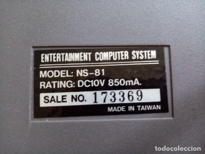 Videojuegos y Consolas: CONSOLA NASSA VINTAGE ENTERTAINMENT COMPUTER SYSTEM - Foto 8 - 284565023