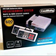Videojuegos y Consolas: CONSOLA RETRO MINI CON 600 JUEGOS NUEVA A ESTRENAR. Lote 284657248