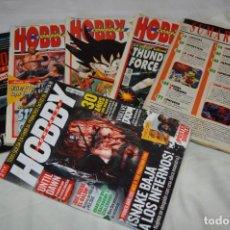 Videojuegos y Consolas: HOBBY CONSOLAS / DIFERENTES ÉPOCAS / 6 EJEMPLARES NÚM. 10, 14, 16, 17, 18 Y 290 / ¡MIRA DETALLES!. Lote 286000328