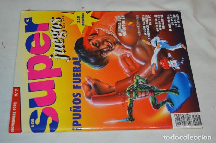 Videojuegos y Consolas: Los SUPER JUEGOS / Año 1 / 4 De los primeros ejemplares Núm. 1, 7, 8 y 9 / ¡Mira fotos y detalles! - Foto 2 - 286011338