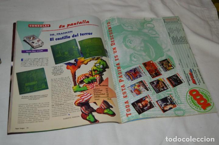 Videojuegos y Consolas: Los SUPER JUEGOS / Año 1 / 4 De los primeros ejemplares Núm. 1, 7, 8 y 9 / ¡Mira fotos y detalles! - Foto 3 - 286011338