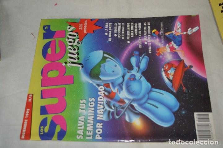 Videojuegos y Consolas: Los SUPER JUEGOS / Año 1 / 4 De los primeros ejemplares Núm. 1, 7, 8 y 9 / ¡Mira fotos y detalles! - Foto 6 - 286011338