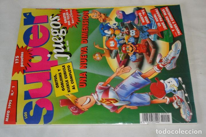 Videojuegos y Consolas: Los SUPER JUEGOS / Año 1 / 4 De los primeros ejemplares Núm. 1, 7, 8 y 9 / ¡Mira fotos y detalles! - Foto 12 - 286011338