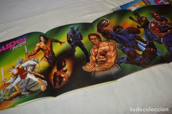 Videojuegos y Consolas: Los SUPER JUEGOS / Año 1 / 4 De los primeros ejemplares Núm. 1, 7, 8 y 9 / ¡Mira fotos y detalles! - Foto 14 - 286011338