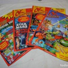 Videojuegos y Consolas: OK CONSOLAS / AÑO 1992 / 4 DE LOS PRIMEROS EJEMPLARES NÚM. 1, 3, 4 Y 5 / ¡MIRA FOTOS Y DETALLES!. Lote 286157813