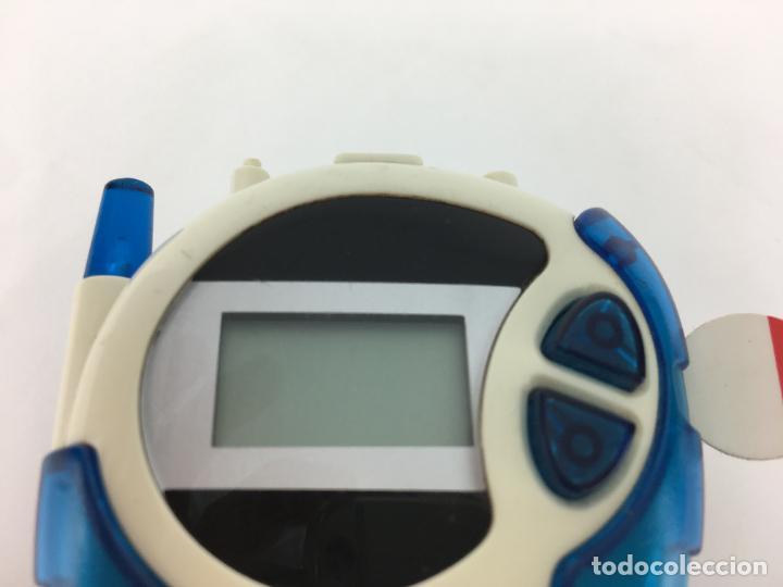 Videojuegos y Consolas: Digimon Digidispositivo TURQUESA Digivice D-3 Bandai 2000 - funcionando - Foto 2 - 286545403