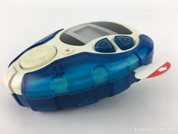 Videojuegos y Consolas: Digimon Digidispositivo TURQUESA Digivice D-3 Bandai 2000 - funcionando - Foto 4 - 286545403