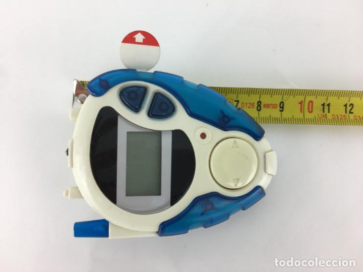 Videojuegos y Consolas: Digimon Digidispositivo TURQUESA Digivice D-3 Bandai 2000 - funcionando - Foto 7 - 286545403