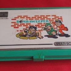 Jeux Vidéo et Consoles: NINTENDO GAME & WATCH BOMB SWEEPER MULTI SCREEN FUNCIONA .LE FALTA LA TAPA. Lote 287005653