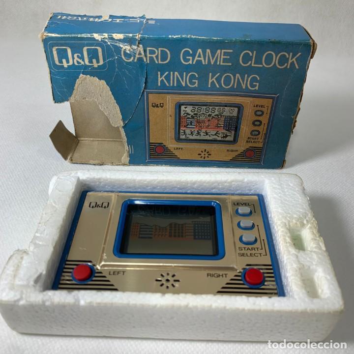 MAQUINITA Q&Q LCD CARD GAME - MODELO CG-002 - MADE IN JAPAN (Juguetes - Videojuegos y Consolas - Otros descatalogados)