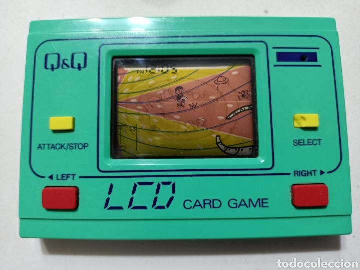 (RESERVADA )GRANADA Q&Q LCD CARD GAME MAQUINITA GAME WATCH (Juguetes - Videojuegos y Consolas - Otros descatalogados)