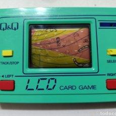 Videogiochi e Consoli: (RESERVADA )GRANADA Q&Q LCD CARD GAME MAQUINITA GAME WATCH. Lote 287391128