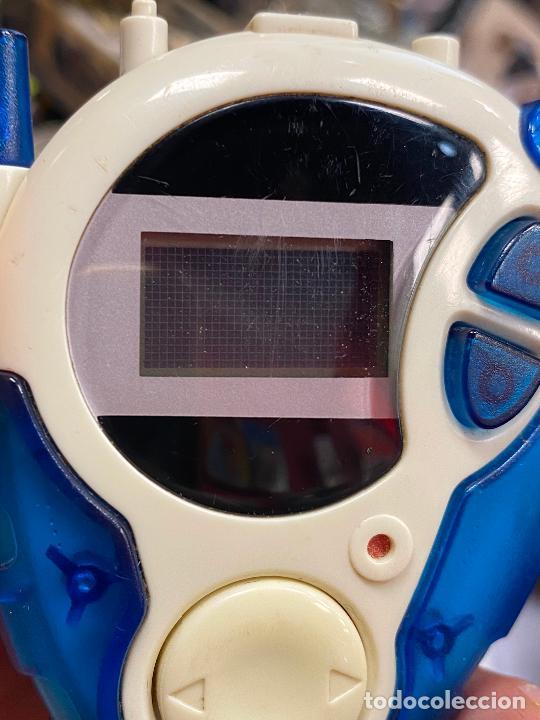 Videojuegos y Consolas: Digimon Digidispositivo TURQUESA Digivice D-3 Bandai 2000 - funcionando - Foto 10 - 286545403
