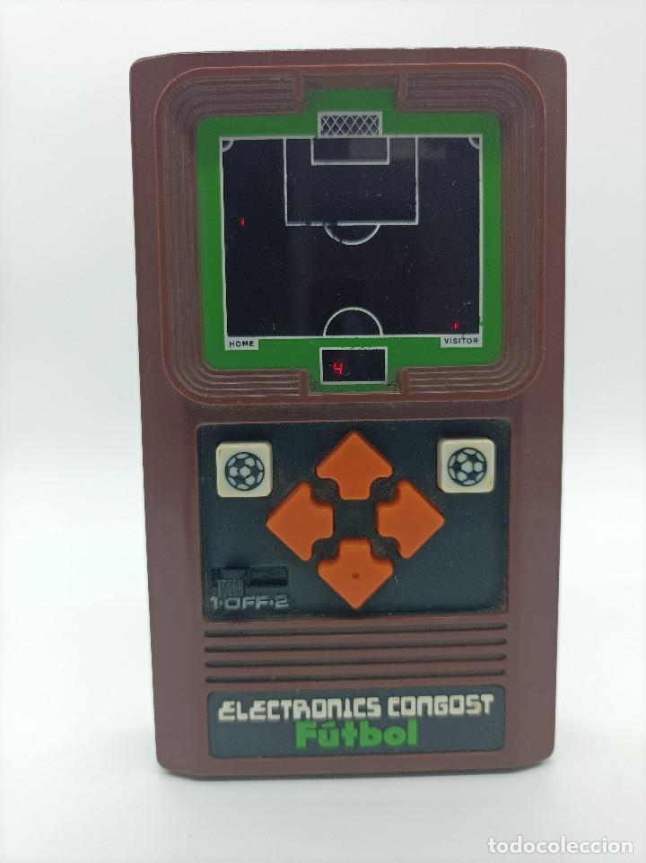 ELECTRONIC CONGOST FUTBOL AÑO 1980 (Juguetes - Videojuegos y Consolas - Otros descatalogados)