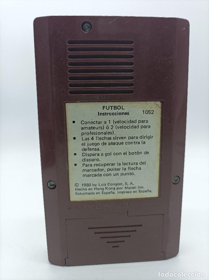 Videojuegos y Consolas: ELECTRONIC CONGOST FUTBOL AÑO 1980 - Foto 2 - 287951638