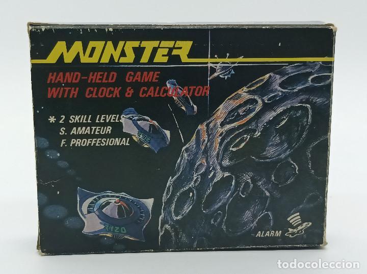 MAQUINITA AÑOS 80 MONSTER H-88 (Juguetes - Videojuegos y Consolas - Otros descatalogados)