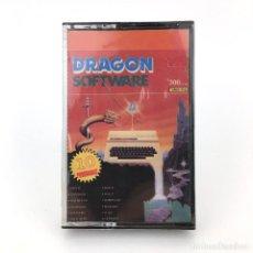 Videojuegos y Consolas: DRAGON SOFTWARE ESPAÑA AÑO 1 Nº 4 PRECINTADO COMPUTER 32 64 200 AVENTURA 7½ JUEGO ORDENADOR CASSETTE. Lote 288116048