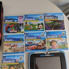 Videojuegos y Consolas: CONSOLA VTECH STORIO MAX XL 2.0 + 7 JUEGOS. Lote 288338418