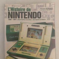 Videojuegos y Consolas: LIBRO 1980-1991 LA HISTORIA DE LAS MAQUINITAS NINTENDO GAME & WATCH. Lote 288355183
