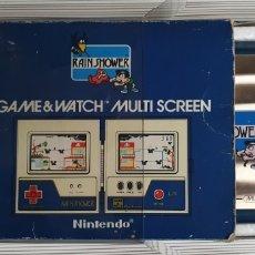 Videojuegos y Consolas: GAME WATCH RAIN SHOWER NINTENDO MULTI SCREEN LP-57. Lote 288889508
