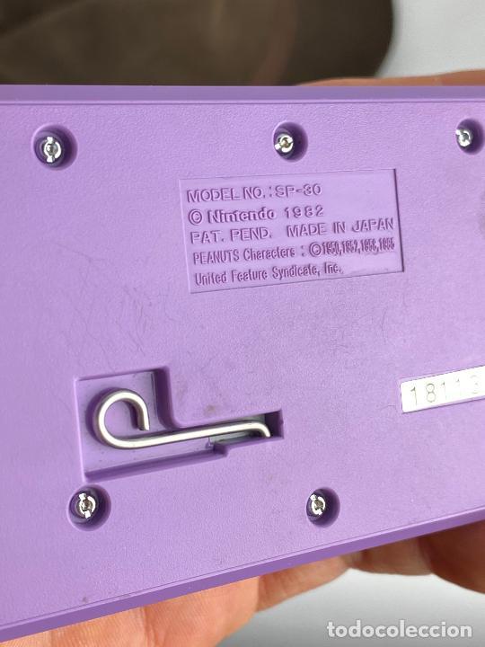 Videojuegos y Consolas: Nintendo game & watch snoopy tennis - Funcionando correctamente - Foto 9 - 288927748