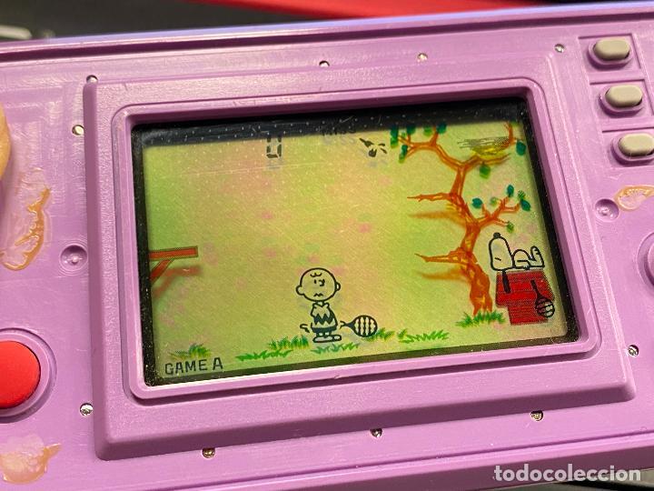 Videojuegos y Consolas: Nintendo game & watch snoopy tennis - Funcionando correctamente - Foto 15 - 288927748