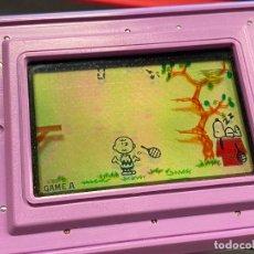 Videojuegos y Consolas: NINTENDO GAME & WATCH SNOOPY TENNIS - FUNCIONANDO CORRECTAMENTE. Lote 288927748