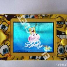 """Videojuegos y Consolas: CONSOLA CAMING - AÑO 2011 - BOB ESPONJA - CON 10 JUEGOS INCLUIDOS - PANTALLA DE 2,7"""". Lote 288948278"""