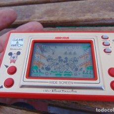 Videojuegos y Consolas: MAQUINITA GAME WATCH MICKEY MOUSE DE NINTENDO , WIDE SCREEN ,. Lote 289874868