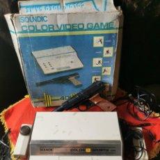 Videojuegos y Consolas: VIDEOCONSOLA SOUNDIC COLOR VIDEOGAME. COLOR TV SPORTS 406-6.AÑOS 70.. Lote 290796603
