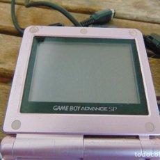 Videojuegos y Consolas: CONSOLA MAQUINITA GAME BOY ADVANCE SP DE NINTENDO ROSA ,NO TIENE CARGADOR. Lote 293233203