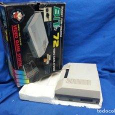 Videojuegos y Consolas: CAJA CONSOLA BIT 72 VIDEO GAME SYSTEM. Lote 293417248