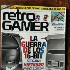 Videojuegos y Consolas: RETROGAMER Nº 32- SEGA VS NINTENDO, SOLEIL, COMMANDO, HALF LIFE, ARTIC MOVES, MSX, PC ENGINE, VORTEX. Lote 293431648