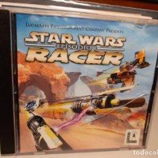 Videojuegos y Consolas: STAR WARS RACER ( EPISODIO 1 ) LUCASARTS ENTERTAINMENT COMPANY. Lote 293483228