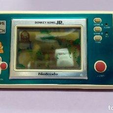 Videogiochi e Consoli: NINTENDO GAME AND WATCH DONKEY KONG JR. - FUNCIONANDI - MIRAR FOTOS Y LEER. Lote 293624333