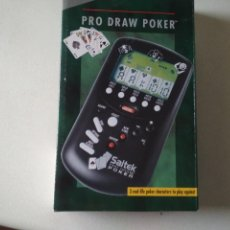 Videojuegos y Consolas: PRO DRAW POKER,LCD GAME SAITEK, NUEVO SIN USAR EN SU CAJA ORIGINAL,. Lote 293896463