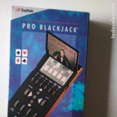 Videojuegos y Consolas: PRO BLACKJACK,LCD GAME SAITEK EN CAJA CON INSTRUCCIONES,NUEVO SIN USAR EN SU CAJA ORIGINAL,. Lote 293896573