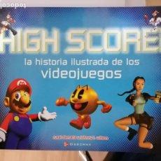 Videojuegos y Consolas: HIGH SCORE HISTORIA ILUSTRADA DE LOS VIDEOJUEGOS RUSEL DEMARIA JOHNNY L WILSON 2002 SIN LEER MUY RAR. Lote 293965268