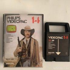 Videojuegos y Consolas: JUEGO PARA LA CONSOLA PHILIPS VIDEOPAC 14 PISTOLERO. Lote 294029273