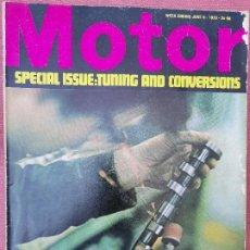 Videojuegos y Consolas: 1970 REVISTA MOTOR - SPECIAL TUNING. Lote 294866423