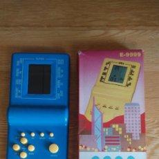 Videojuegos y Consolas: BRICK GAME E-9999 AZUL - CAJA ORIGINAL, EXCELENTE ESTADO - FUNCIONANDO. Lote 294868493
