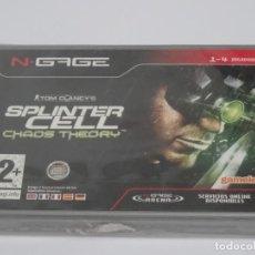 Videojuegos y Consolas: N-GAGE - SPLINTER CELL CHAOS THEORY ED. ESPAÑOL NUEVO PRECINTADO NEW SEALED NOKIA NGAGE N GAGE. Lote 295406633