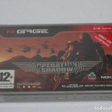 Videojuegos y Consolas: N-GAGE - OPERATION SHADOW ED. ESPAÑOL NUEVO PRECINTADO NEW SEALED NOKIA NGAGE N GAGE. Lote 295408073